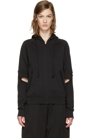Y-3 - Black Force Zip-Up Hoodie