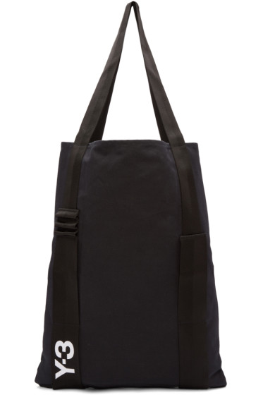 Y-3 - Black Iconic Tote Bag