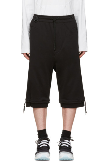 Y-3 - Black M BRND FT Shorts