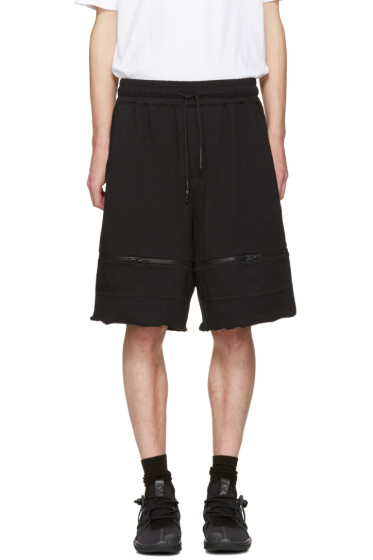 Y-3 - Black M Trnsfrm Shorts