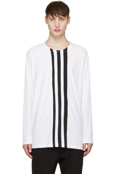 Y-3 - White Three Stripe T-Shirt