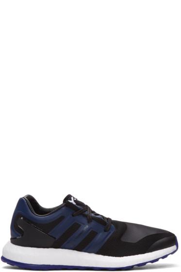 Y-3 - Black Pure Boost Sneakers