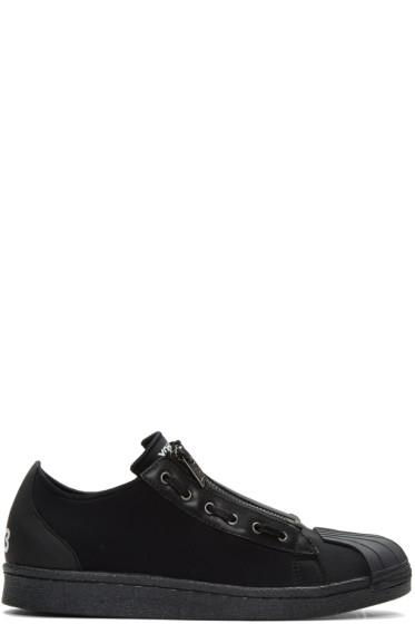 Y-3 - Black Super Zip Sneakers