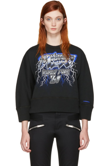 Dsquared2 - Black 'Twins World Tour' Pullover