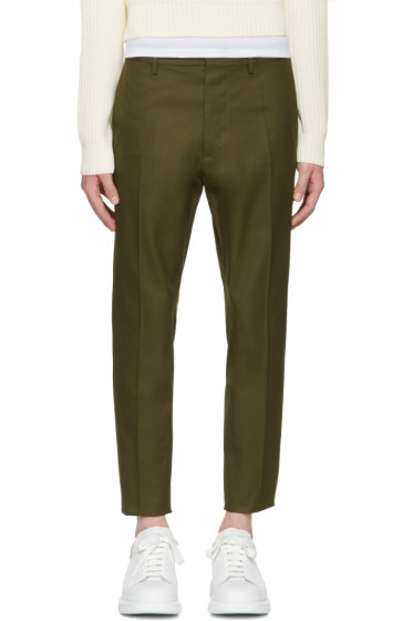 Dsquared2 - Green Hockney Trousers