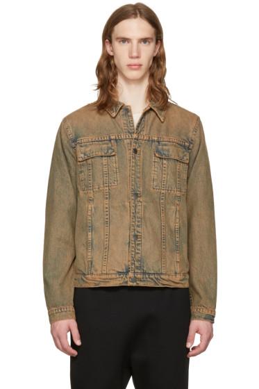 Helmut Lang - Brown Mr. 87 Denim Jacket
