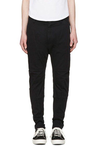 Helmut Lang - Black Straps Trousers