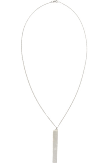 Maison Margiela - Silver Nail File Necklace