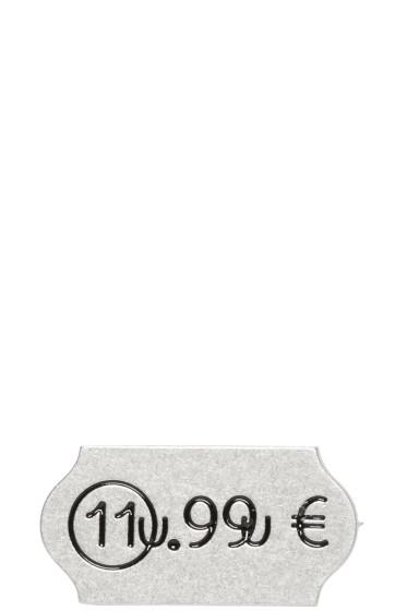 Maison Margiela - Silver Euro Pin