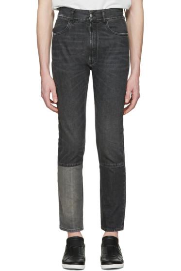 Maison Margiela - Black Patchwork Jeans