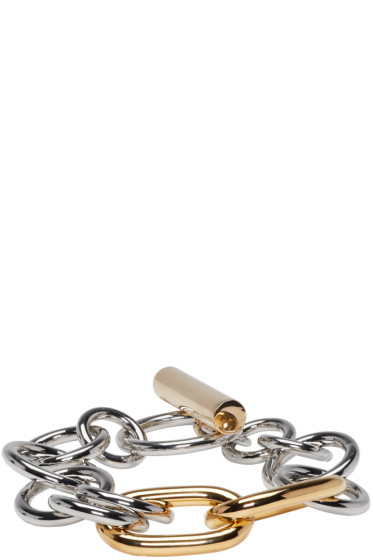 Alexander Wang - Gold & Silver Toggle Bracelet