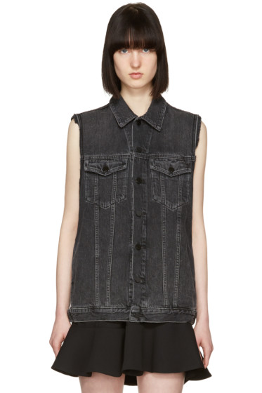 Alexander Wang - Grey Denim Daze Vest