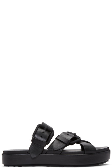 Alexander Wang - Black Kriss Sandals