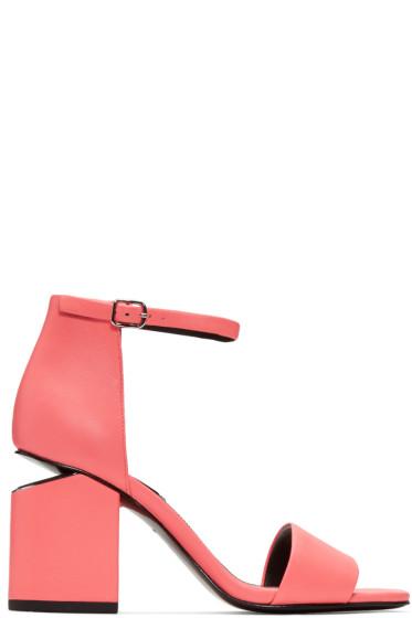 Alexander Wang - Pink Abby Sandals