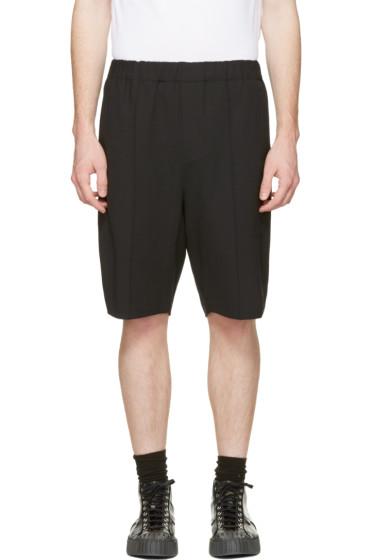 Alexander Wang - Black Tailored Lounge Shorts