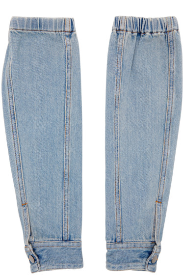 MM6 Maison Margiela - Blue Denim Sleeves