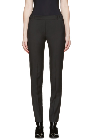 MM6 Maison Margiela - Black Tropical Wool Trousers