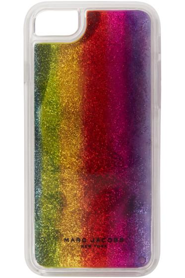 Marc Jacobs - Multicolor Glitter Rainbow iPhone 7 Case