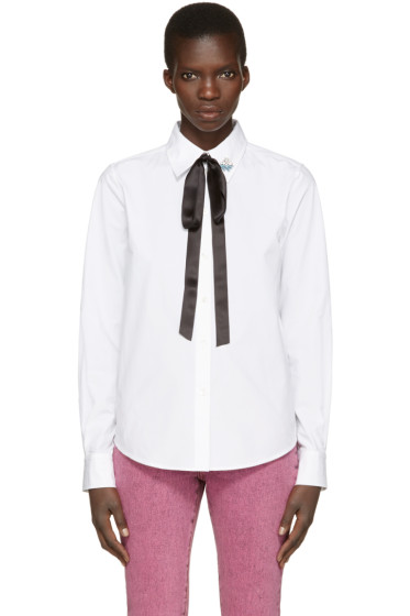 Marc Jacobs - White Tie & Pin Shirt