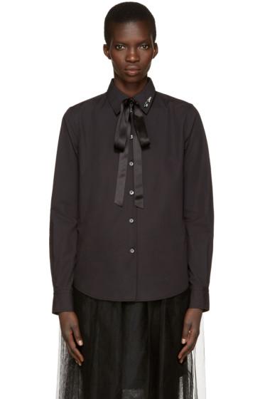 Marc Jacobs - Black Tie & Pin Shirt