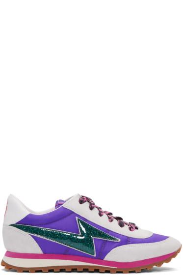 Marc Jacobs - Purple Astor Jogger Sneakers