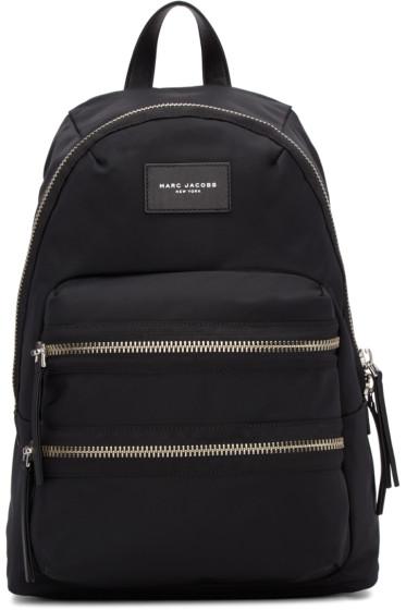Marc Jacobs - Black Multi-Zip Backpack