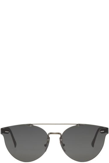 Super - Black Tuttolente Giaguaro Sunglasses