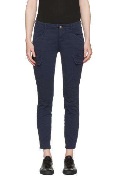 J Brand - Navy Houlihan Cargo Trousers