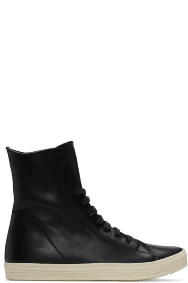 Rick Owens - Black Mastodon High-Top Sneakers