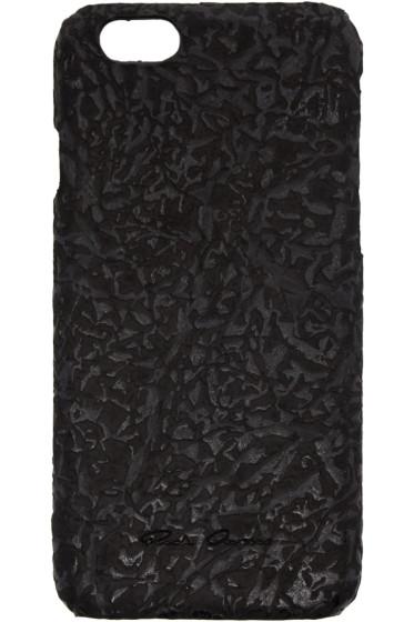 Rick Owens - Black Leather iPhone 6 Case