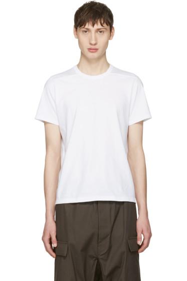 Rick Owens - White Short Level T-Shirt