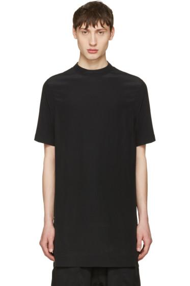 Rick Owens - Black Moody Tunic T-Shirt