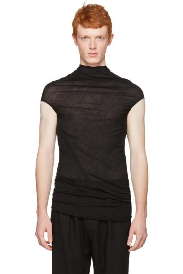 Rick Owens - Black Bonne T-Shirt