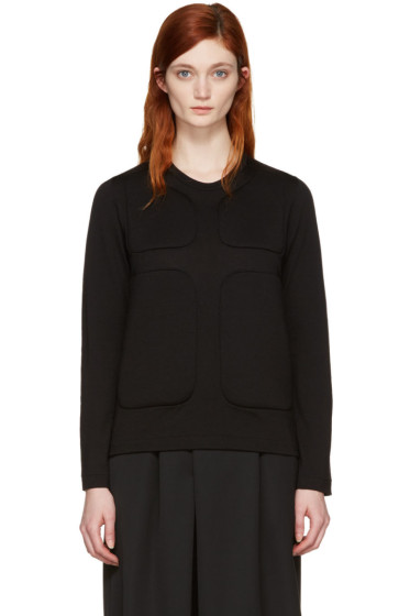 Comme des Garçons - Black Padded Pullover