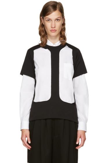 Comme des Garçons - Black Cut-Out T-Shirt