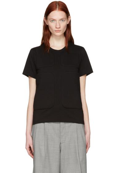 Comme des Garçons - Black Padded Patches T-Shirt