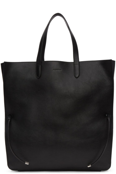 Jil Sander - Black Large Lace Shopper Tote