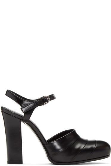 Jil Sander - Black Dancing Heels