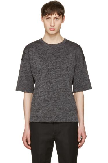 Jil Sander - Grey Drop Shoulder T-Shirt