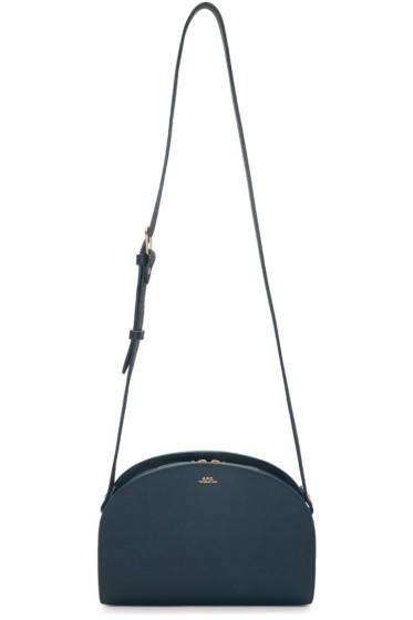 A.P.C. - Blue Demi Lune Bag
