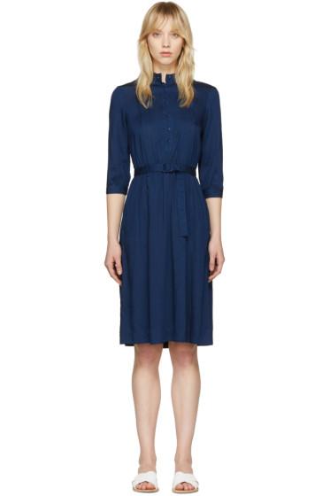 A.P.C. - Indigo Marion Dress