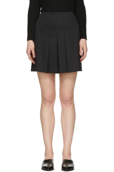 A.P.C. - Black Martine Miniskirt