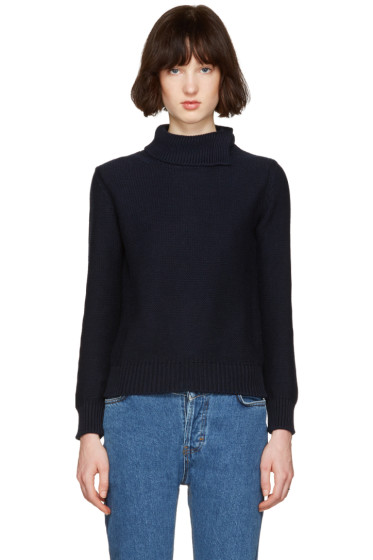 A.P.C. - Navy Anouk Turtleneck