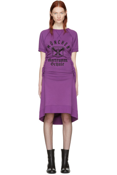 Junya Watanabe - Purple Pullover Dress