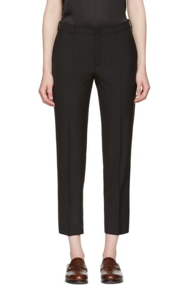 Lanvin - Black Cropped Trousers