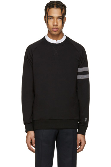 Lanvin - Black Distressed Pullover