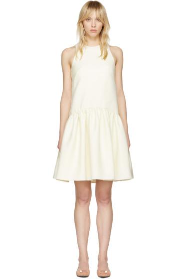 Alexander McQueen - Ivory Drop Waist Dress