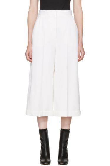 Alexander McQueen - White Classic Culottes