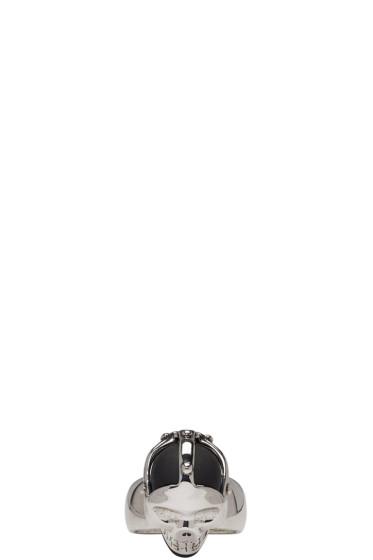 Alexander McQueen - Silver Dominatrix Skull Ring