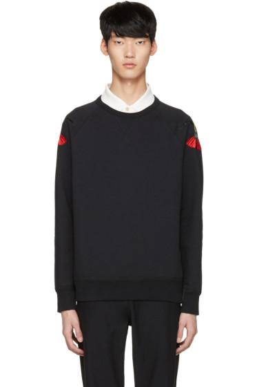 Alexander McQueen - Black Bird Pullover